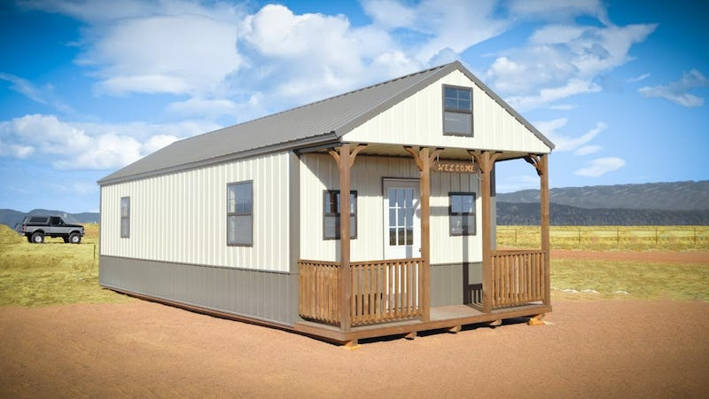 Gable Cabin Shed