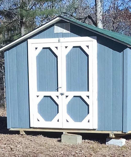 Blue shed removal